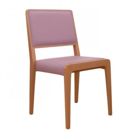Lila Döşemeli Modern Sandalye - msag57