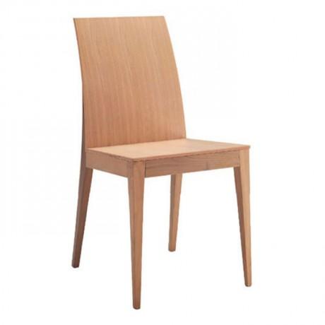 Meşe Ahşap Kontralı Modern Sandalye - msag110