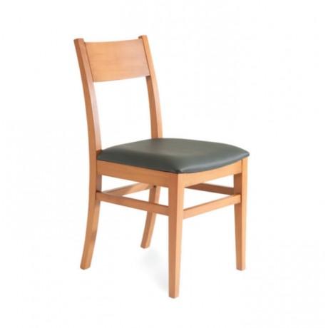 Meşe Ahşaplı Modern Restoran Sandalyesi - msag08
