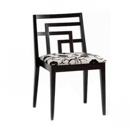 Modern Stil Ahşap Venge Boyalı Sandalye - msag106