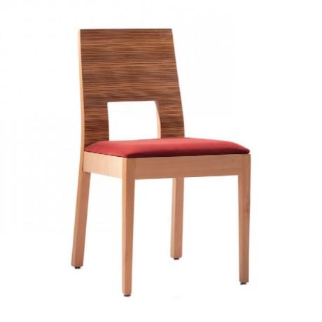 Natural Boyalı Gürgen Ahşaplı Modern Sandalye - msag78