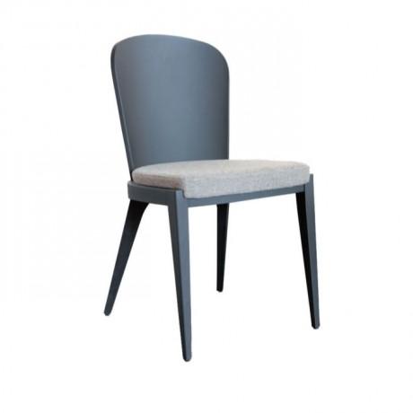 Oval Papel Sırtlı Modern Sandalye - msag66