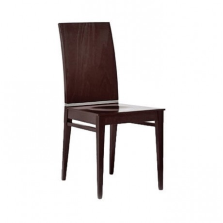 Papel Parlak Cilalı Modern Sandalye - msag98