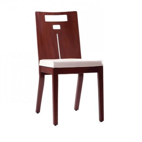 Papelli Açık Eskitme Boyalı Modern Sandalye - msag23