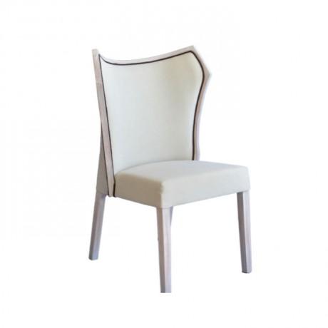 Patine Silme Beyaz Boyalı Sandalye - msaf37