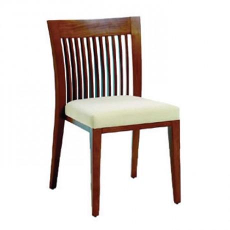 Sırtı Cilalı Eskitme Boyalı Modern Sandalye - msag13