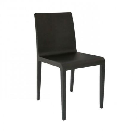Siyah Boyalı Kontralı Modern Sandalye - msag56