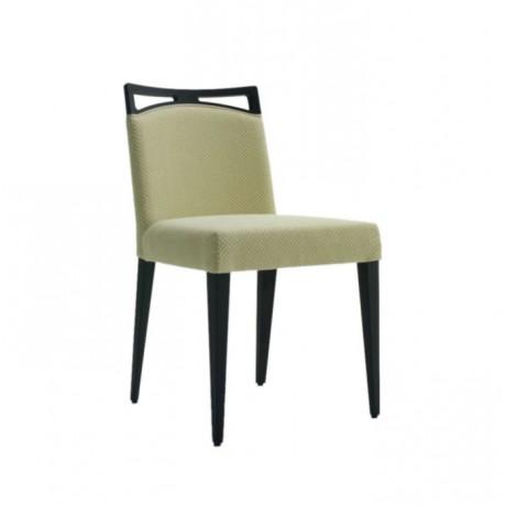 Siyah Boyalı Modern Sandalye - msaf08