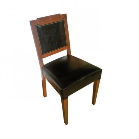 Siyah Derili Eskitme Renkli Modern Restoran Sandalyesi - msaf18