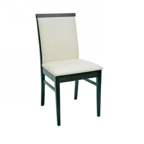 Siyah Lake Boyalı Mutfak Sandalyesi - msaf30