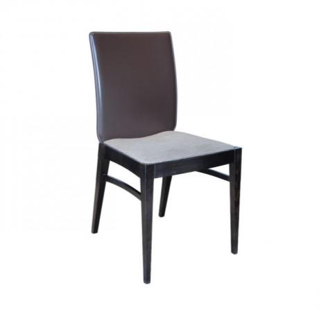 Siyah Parlak lake Boyalı Modern Sandalye - msag22