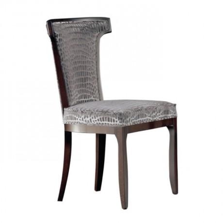 Timsah Deri Döşemeli Modern Sandalye - msaf25
