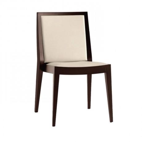 Venge Boyalı Ahşap Modern Kafe Sandalyesi - msag117