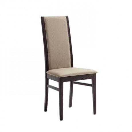 Vizon Deri Döşemeli Koyu Eskitme Modern Sandalye - msag83
