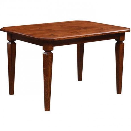 Antiqued Wooden Rustic Restaurant Table - rdm12