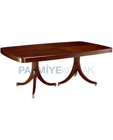 Wooden Rustic Polished Table