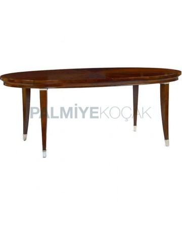 Wooden Rustic Hotel Table