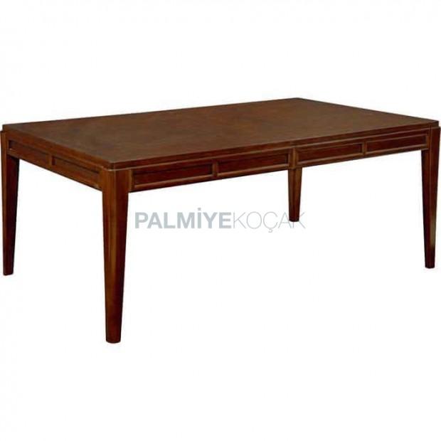 Wooden Rustic Restaurant Table