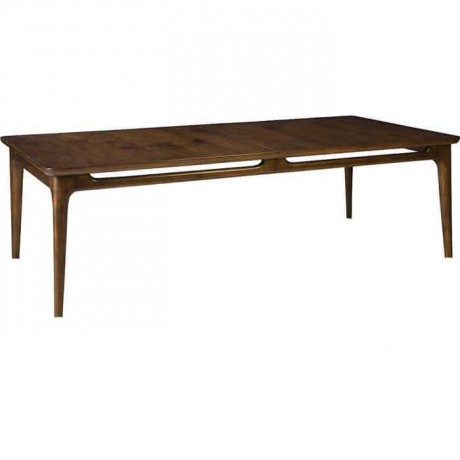 Walnut Rustic Dining Table Painted - rdm07