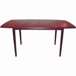 Mahogany Polished Drop Leave Rustic Table