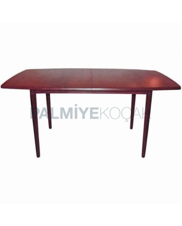 Mahogany Polished Drop Leave Rustic Table