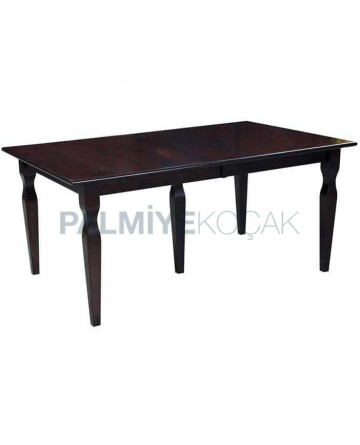 Wenge Painted Rustic Wooden Table