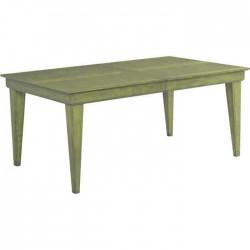 Green Patina Rustic Table
