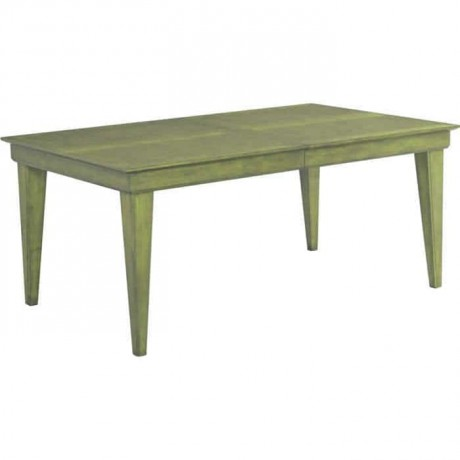 Green Patina Rustic Table - rdm06