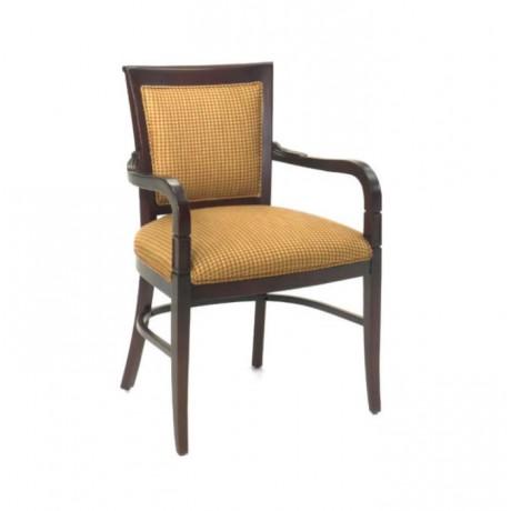 Fabric Covered Tumbled Armchair - rsak28