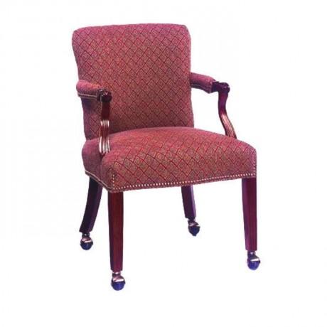 Fabric Upholstered Restaurant Armchair - rsak07