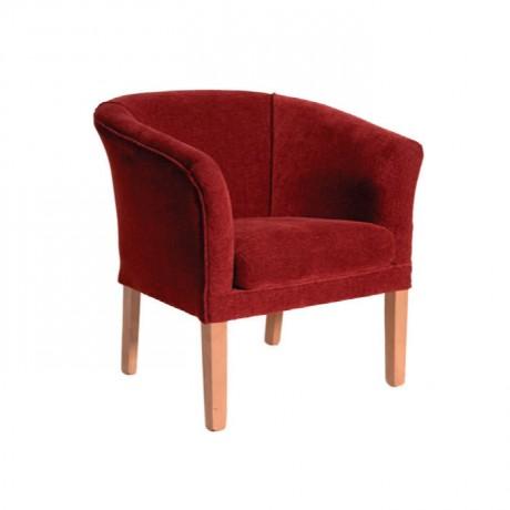 Kumaş Döşemeli Kollu Yemek Odası Sandalyesi - rsak41