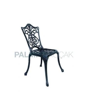 Aluminium Iron Casting Cafe Chair