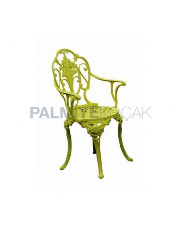 Green Colour Aluminium Casting Chair