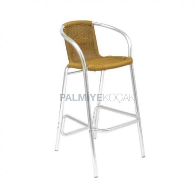 Aluminum Matted Garden Bar Chair