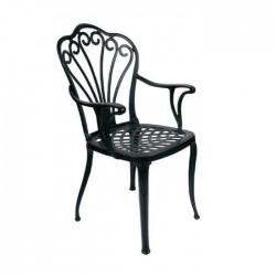 Aluminum Casting Hotel Arm Chair