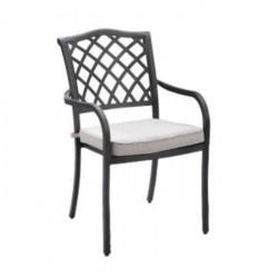 Aluminum Arm Cushion Casting Chair