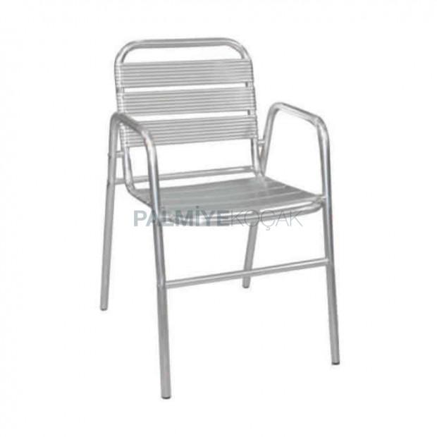Alüminyum Kollu Otel Sandalyesi