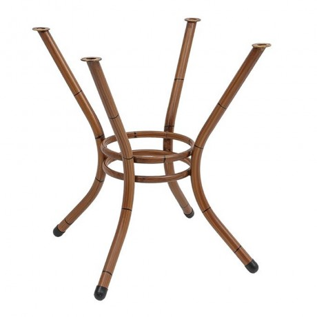 Bambu Boyalı Alüminyum Masa Ayağı - Metal Masa Ayakları