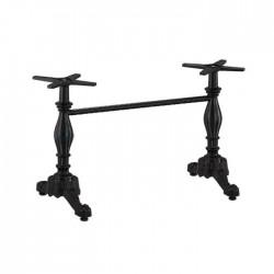 Double Aluminum Cast Table Leg