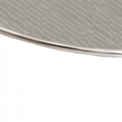 Oval Stainless Table Top
