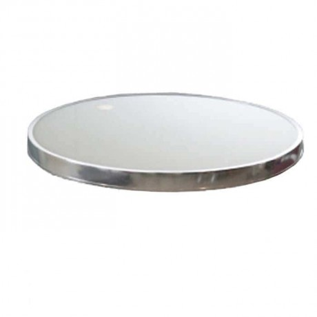 Stainless Round Garden Table Top - atm04