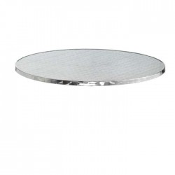 Stainless Round Table Bistro Table Top