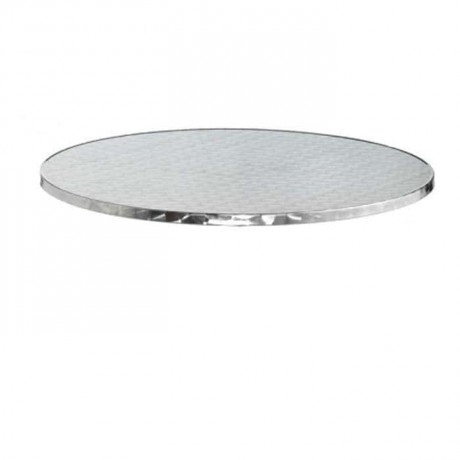 Stainless Round Table Bistro Table Top - atm01