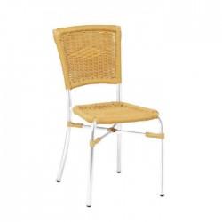 Aluminum Braided Cafe Chair