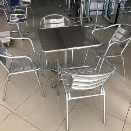 Alüminyum Sandalye Masa Set - Alüminyum Sandalye Masa Takımı