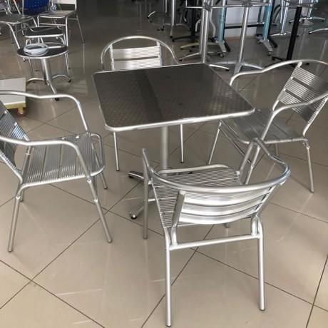 Alüminyum Sandalye Masa Set - asm01
