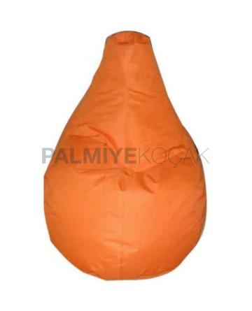 Orange Pear Cushion