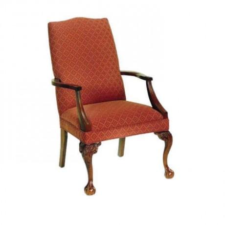Aslan Oymalı Kollu Klasik Sandalye - ksak65
