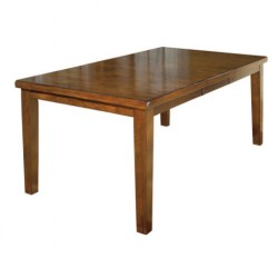 Avangard Cafe Table with Wooden Walnut Painted