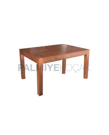 Wooden Rectangle Light Antique Painted Table